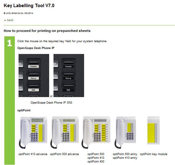 Unify Labeling Tool címke készítő alkalmazás